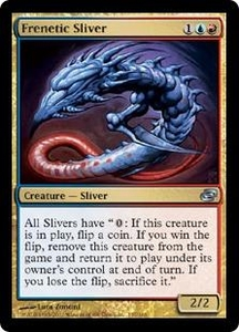 Magic the Gathering Planar Chaos Single Card Uncommon #157 Frenetic Sliver