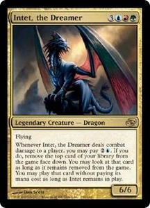 Magic the Gathering Planar Chaos Single Card Rare #158 Intet, the Dreamer