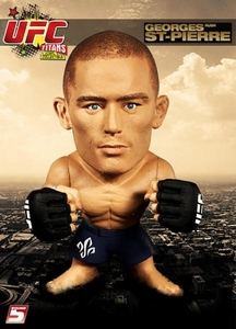 Round 5 UFC Titans Vinyl Action Figure Georges St. Pierre [No Gi]