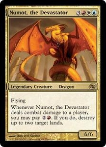 Magic the Gathering Planar Chaos Single Card Rare #160 Numot, the Devastator