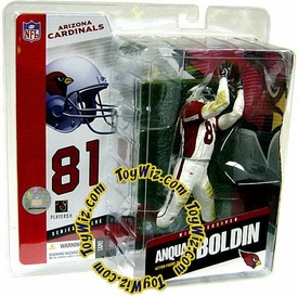 McFarlane Toys NFL Sports Picks Series 12 Action Figure Anquan Boldin (Arizona Cardinals) White & Red Jersey