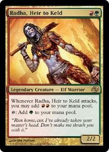 Magic the Gathering Planar Chaos Single Card Rare #162 Radha, Heir to Keld