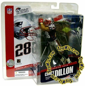 McFarlane Toys NFL Sports Picks Series 12 Action Figure Corey Dillon (New England Patriots)