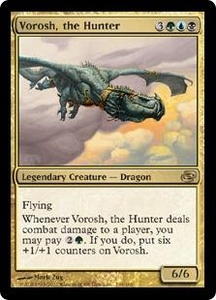 Magic the Gathering Planar Chaos Single Card Rare #164 Vorosh, the Hunter