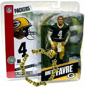 McFarlane Toys NFL Sports Picks Series 12 Action Figure Brett Favre (Green Bay Packers) Green Jersey Without Towel
