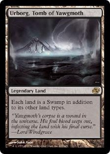 Magic the Gathering Planar Chaos Single Card Rare #165 Urborg, Tomb of Yawgmoth