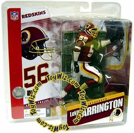 McFarlane Toys NFL Sports Picks Series 12 Action Figure Lavar Arrington (Washington Redskins) Red Jersey