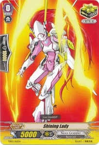 Cardfight Vanguard ENGLISH Golden Mechanical Soldier Trial Deck Single Card Fixed TD03-012 Shining Lady