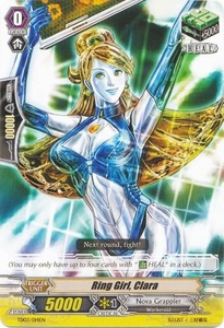 Cardfight Vanguard ENGLISH Golden Mechanical Soldier Trial Deck Single Card Fixed TD03-014 Ring Girl, Clara