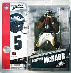 McFarlane Toys NFL Sports Picks Series 12 Action Figure Donovan McNabb (Philadelphia Eagles) Black Jersey Variant