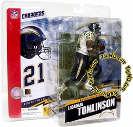 McFarlane Toys NFL Sports Picks Series 12 Action Figure LaDainian Tomlinson (San Diego Chargers) Sock Error Variant