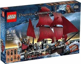 LEGO Pirates of the Caribbean Set #4195 Queen Anne's Revenge