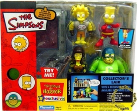 The Simpsons Toys R Us Exclusive Action Figure Playset Treehouse of Horror 4 Collector's Lair