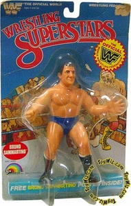WWF LJN Wrestling Superstars Bruno Sammartino