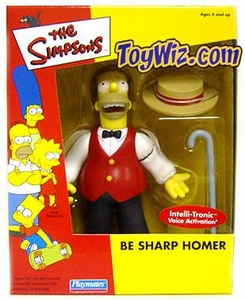 The Simpsons Exclusive Action Figure Be Sharp Homer