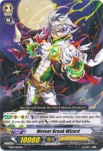 Cardfight Vanguard ENGLISH Maiden Princess of the Cherry Blossoms Trial Deck Single Card Fixed TD04-003EN Meteor Break Wizard