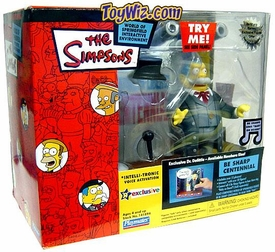 The Simpsons Toys R Us Exclusive Action Figure Playset Be Sharp Centennial with Dolittle Chief Wiggum