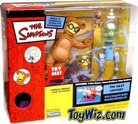 The Simpsons Exclusive Playset Next Century with Future Burns, Future Smithers & Bobo Smithers