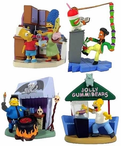 The Simpsons Series 2 Bust-Ups Gut Busters Set of 4 Figures