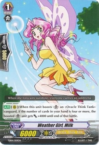 Cardfight Vanguard ENGLISH Maiden Princess of the Cherry Blossoms Trial Deck Single Card Fixed TD04-009EN Weather Girl, Milk
