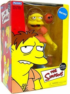 The Simpsons Playmates 9 Inch Action Figure Barney