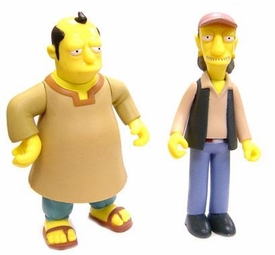 The Simpsons LOOSE Incomplete Action Figure 2-Pack Llewellyn Sinclair & Cooder