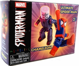 Marvel MiniMates Series 7 Chameleon & Ultimate Spider-Man