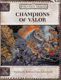 D&D Dungeons & Dragons Forgotten Realms Accessory Champions of Valor