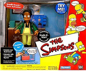 The Simpsons Playmates Playset Kwik-E-Mart with Exclusive Apu