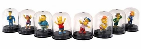 The Simpsons Set of 8 Yujin Mini-Capsule Figures