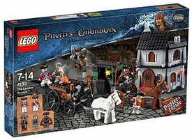 LEGO Pirates of the Caribbean Set #4193 The London Escape Damaged Packaging, Mint Contents!