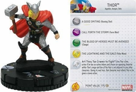 Chaos War HeroClix Marquee Figure & Card #202 Thor