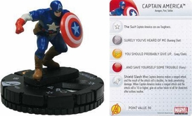 Chaos War HeroClix Marquee Figure & Card #203 Captain America