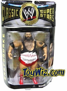 WWE Wrestling Classic Superstars Series 6 Action Figure Earthquake