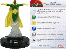 Chaos War HeroClix Marquee Figure & Card #205 Vision