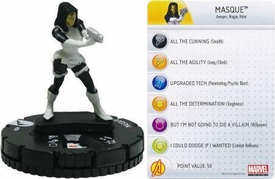 Chaos War HeroClix Marquee Figure & Card #206 Masque