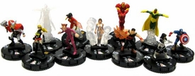 Chaos War HeroClix Set of all 10 Gravity Feed Figures [Bonus Marquee Vision!]