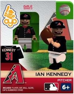OYO Baseball MLB Generation 2 Building Brick Minifigure Ian Kennedy [Arizona Diamondbacks]