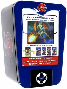 Chaotic Card Game 2009 Wave 2 Scanner Deck Box Tin [Blue]