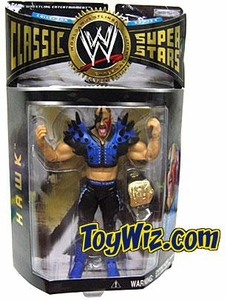 WWE Wrestling Classic Superstars Series 6 Action Figure Road Warrior Hawk