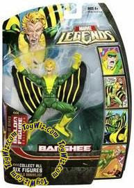 Marvel Legends Series 16 (Hasbro Series 1) Action Figure Banshee [Annihilus Build-A-Figure]
