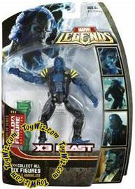 Marvel Legends Series 16 (Hasbro Series 1) Action Figure X3 Beast (X-Men 3 Movie) [Annihilus Build-A-Figure]