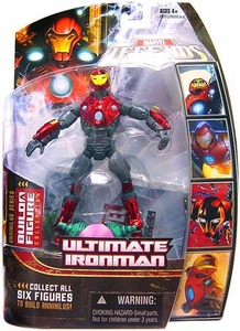 Marvel Legends Series 16 (Hasbro Series 1) Action Figure Ultimate Iron Man [Helmet On] [Annihilus Build-A-Figure]