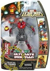 Marvel Legends Series 16 (Hasbro Series 1) Action Figure Ultimate Iron Man [Helmet Off] [Annihilus Build-A-Figure]