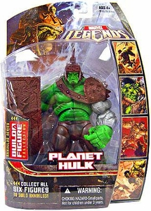 Marvel Legends Series 16 (Hasbro Series 1) Action Figure Planet Hulk {Silver Arm Variant} [Annihilus Build-A-Figure]