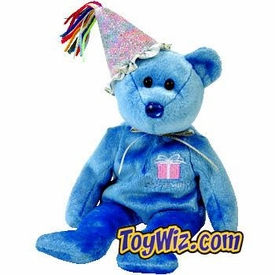 Ty Beanie Baby September the New Version Birthday Bear