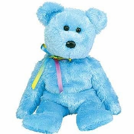 Ty  Beanie Baby Sherbert the Baby Blue Bear