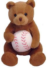Ty Beanie Baby Shortstop the Bear