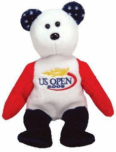 Ty Beanie Baby Smash the 2005 US Open Tennis Bear