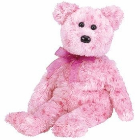 Ty Beanie Baby Smitten the Bear Black Nose or Pink Nose!